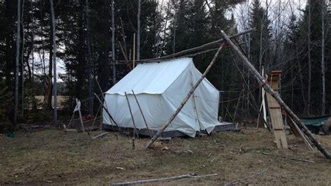 platform tents building a wall tent platform and knee wall