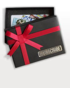 Magazine Gift Card - magazine gift vouchers magazine gift card post or email from isubscribe magazine co uk