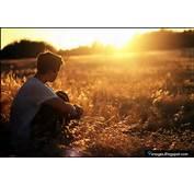 Cute Boy Alone Lonely Sad Sunset