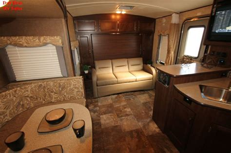 travel trailer with murphy bed 2014 holiday rambler aluma lite 238 bhs travel trailer rv slide out b
