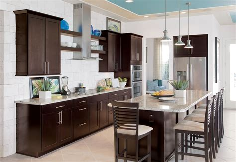 breakfast nook cabinets kitchen kitchen colors with dark brown cabinets