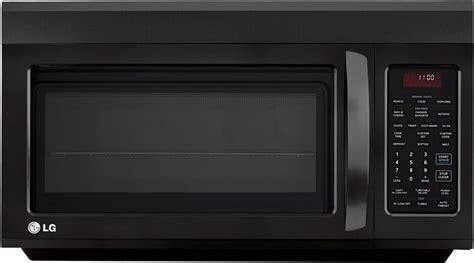 built in microwave ovens with exhaust fan lg lmv1813sb 1 8 cu ft the range microwave with 400