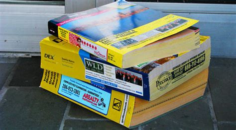 Phone Book Lookup Yellow Pages Opt Out Of Receiving Printed Phone Books A Million Cool Things To Do Seattle