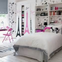 pretty teenage girl bedroom decor cute teenage girls room decor with eiffel tower theme
