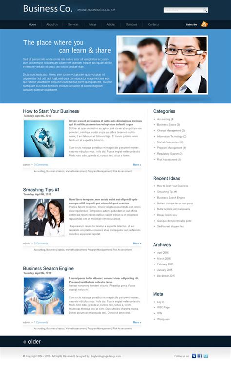 website templates for online business flat 30 special discount offer on website template psd