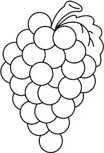 Grape Art Drawing Clipart Best Grapes Coloring Pages