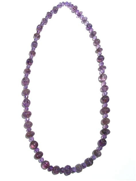 beaded jewelry for sale amethyst beaded necklace fj 2512 for sale antiques