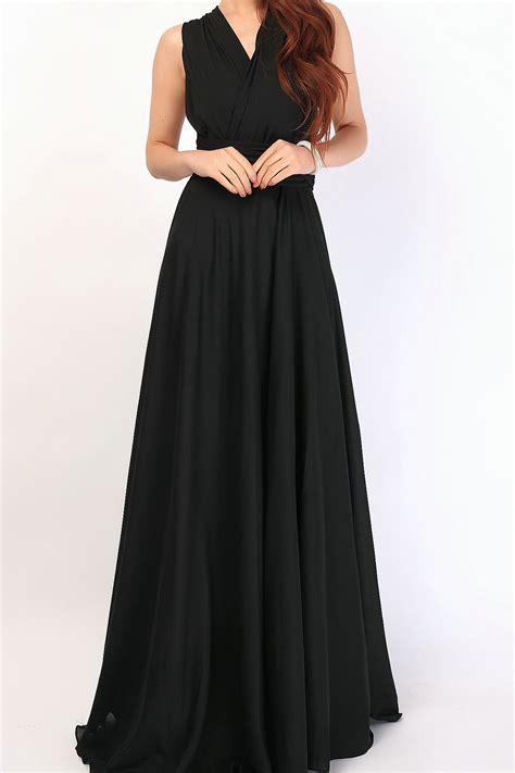 black chiffon overlay chiffon skirt chiffon 002