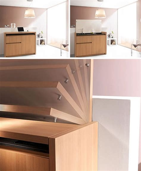 All the Things: Compact Kitchenette Cools, Cooks & Cleans