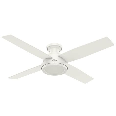 hunter ceiling fans without lights hunter fan company dempsey fresh white ceiling fan without