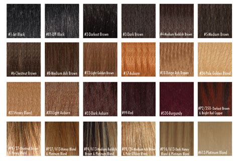 hair color number chart hair color sles