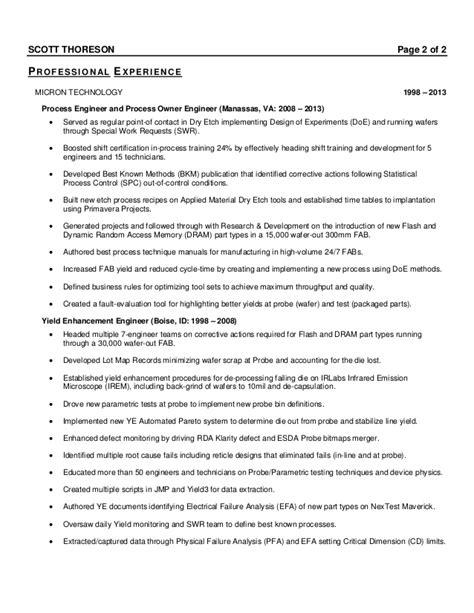 thoreson resume