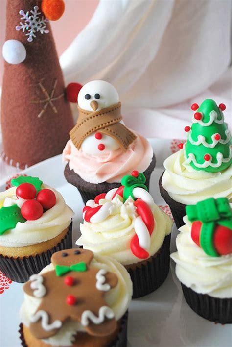 christmas decorations cupcakes in the kitchen pinterest