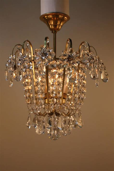 Chandeliers Flush Mount Semi Flush Mount Chandelier At 1stdibs