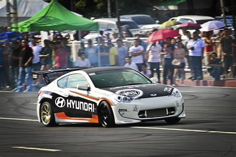 genesis drift car atoy customs genesis shines in lateral drift inquirer