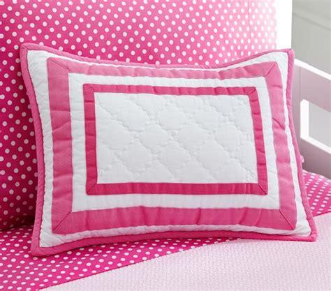 Bright Pink Crib Bedding Nursery Bedding Bright Pink Pottery Barn