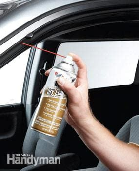 What To Use To Lubricate Garage Door Tracks by Winter Prep Where To Grease A Car Family Handyman