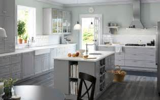 grey kitchen cabinets ikea kitchen inspiration