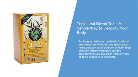 Earth Leaf Detox Reviews by Leaf Detox Tea Benefits Reviews