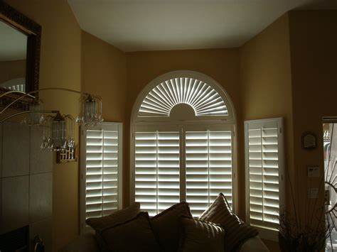 arch window shutters interior arched shutters 3 blind mice window coverings san diego ca