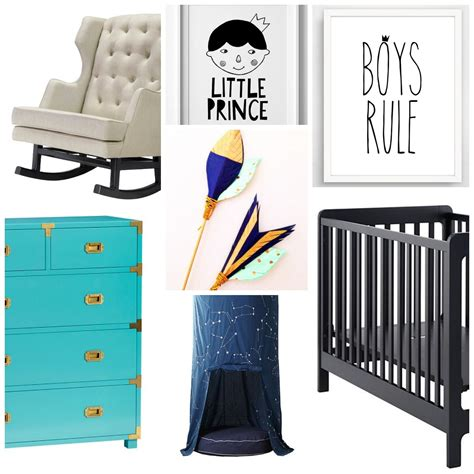 The Prince Nursery Decor by Gorgeous Nursery Themes For Both Boys Page 4 Of 5