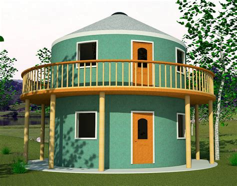 plans for building a house roundhouse with yurt earthbag house plans