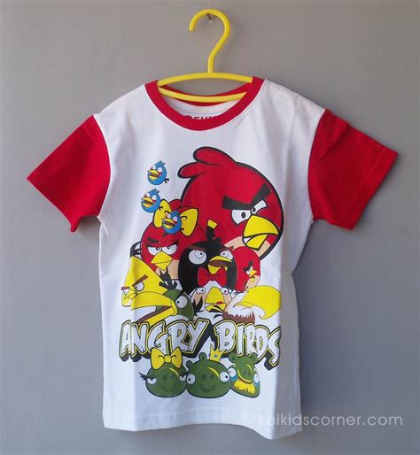 Baju Anak Laki Laki Angry Bird 317 jual kaos anak laki laki angry bird keikidscorner