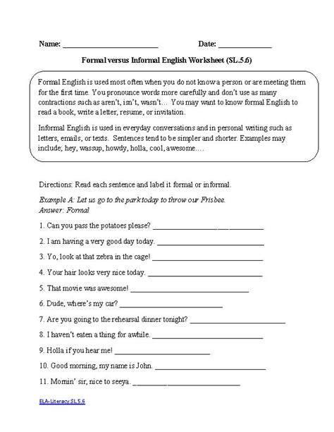 5th Grade Language Arts Worksheets by Language Arts 5th Grade Worksheets Fioradesignstudio