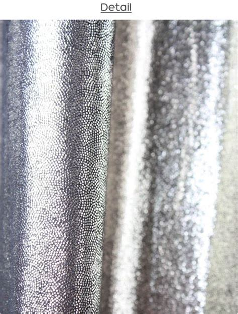 bling curtains  silver  pinterest