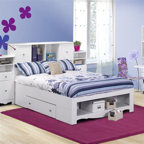Girls Full Bed Frame With Storage Modern Storage Twin Modern Storage Bed Frame