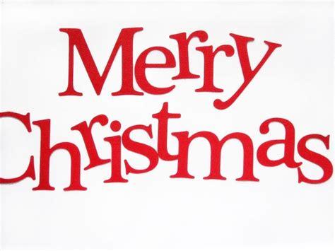 die cut letters merry christmas die cut letters letters