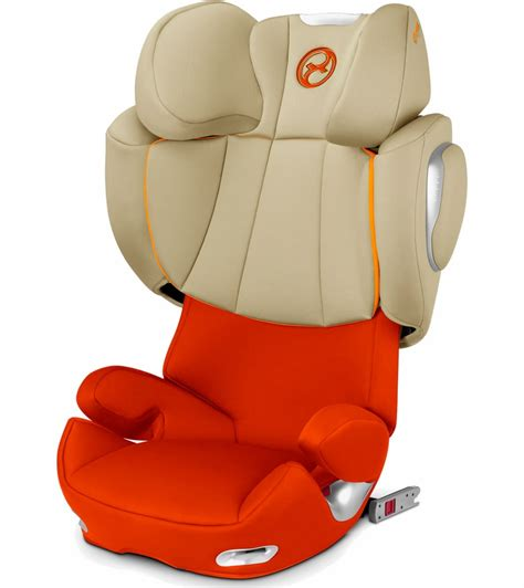 cybex solution  fix booster car seat autumn gold