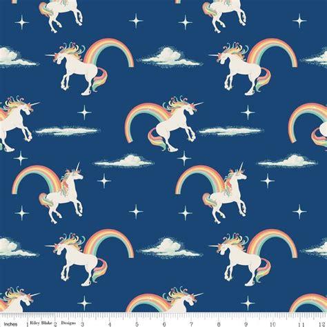 unicorn pattern fabric magical unicorn by riley blake patterns to love