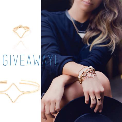 Fashion Blog Giveaways - jewelry giveaway with the august diaries leah alexandra