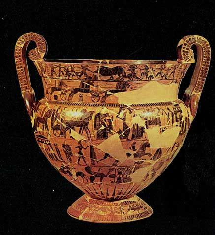 vaso di francois il vaso fran 231 ois francois di ergotimos e kleiatis