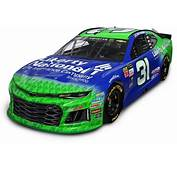 2018 NASCAR Cup Series Paint Schemes  Team 31 Richard