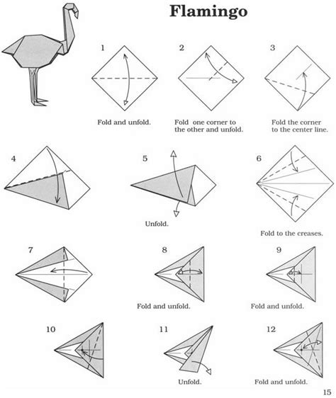 How To Fold Paper Into A Bird - 25 best ideas about origami birds on diy