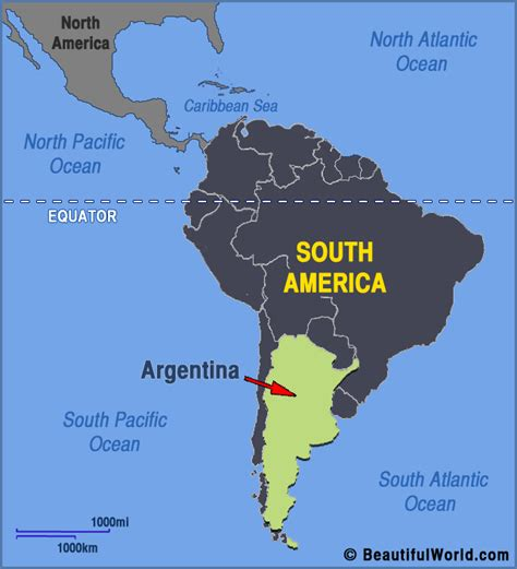 south america map bully map of argentina facts information beautiful world