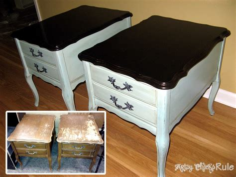 painted thrift store table and chairs a collection of quot before after quot furniture pieces artsy