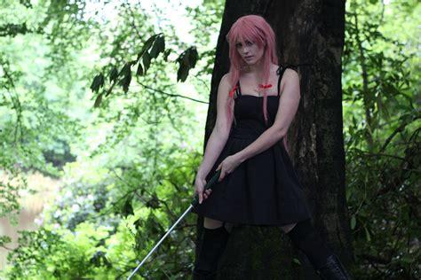 Yuno Gasai Black Dress Screenshot Loading