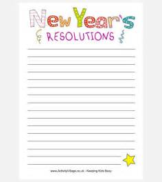 new template 30 best new year resolution templates design ideas for
