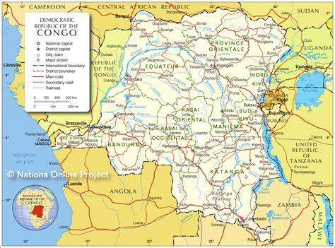 congo map republik kongo kartenrand