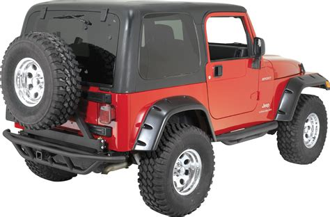 jeep rear bumper with tire rugged ridge rrc rear bumper with hitch and swingout tire