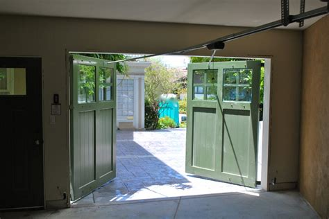 garage swing out swing carriage garage doors traditional garage and