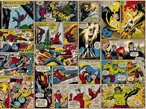 classic marvel wallpaper my free wallpapers comics wallpaper classic marvel strips