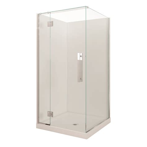 Bathroom Shower Units Nz Stein 1000mm Project Shower Door Only Bunnings Warehouse