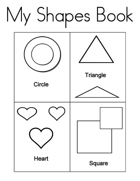 shape house coloring page simple geometric shapes coloring pages for kids