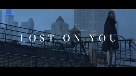 On You lp lost on you official