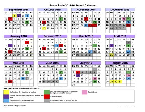 District 204 Calendar Image Gallery School Calendar