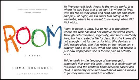 The Room Book by Open Book Club Room By Donoghue Island Books